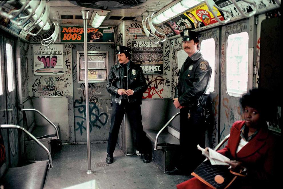 Метро в Нью-Йорке фото